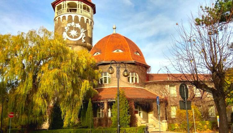 Светлогорск – водонапорная башня