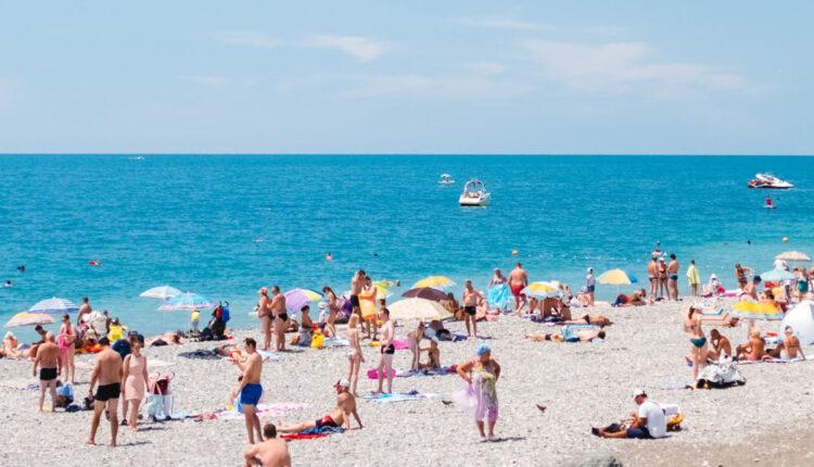 Пляж в Имеретинке