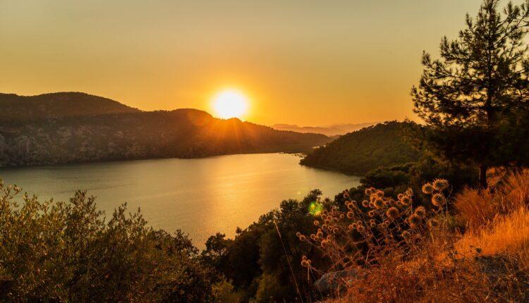 Sarsala Lagoon's Sunset