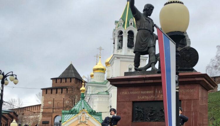 Нижний Новгород памятник Минину и Пожарскому